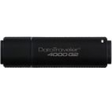 Stick USB Kingston DataTraveler DT4000G2, 16GB, USB 3.0, Criptare (Negru)