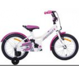 Bicicleta copii Passati Ninja, Roti 12inch (Roz/Alb)