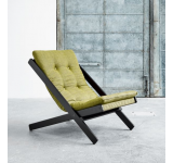 Fotoliu relaxare Boogie Black Avocado Green