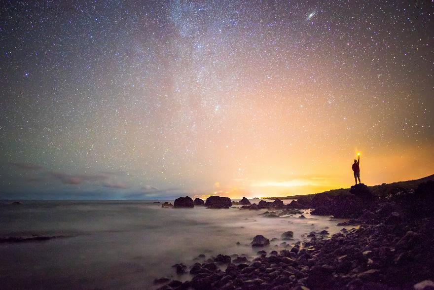 Lumina noptii: Un dans al Caii Lactee, in miezul verii - Poza 16
