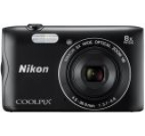 Aparat Foto Digital NIKON COOLPIX A300, Filmare HD, 20.1 MP, Zoom Optic 8x (Negru)