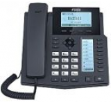 Telefon IP Fanvil X5, LCD 64x192, HD Voice, 6 linii SIP, PoE