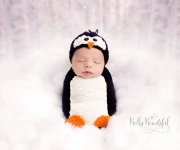 15+ Bebelusi adorabili in asteptarea Craciunului