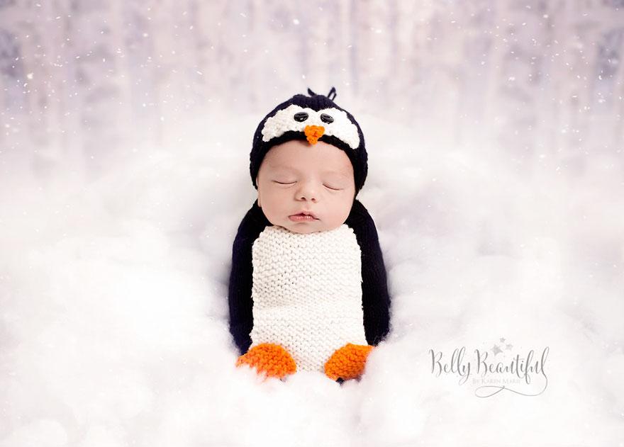 15+ Bebelusi adorabili in asteptarea Craciunului - Poza 1