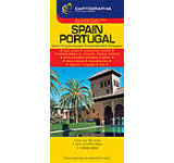 Harta rutiera - Spania Portugalia