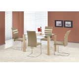 Set Masa din sticla Maxwel + 4 scaune K197