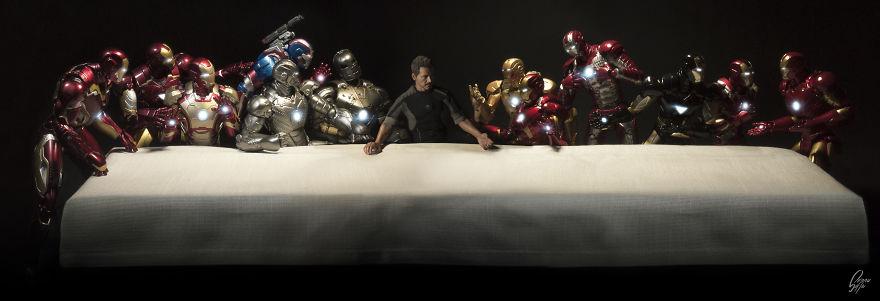 Istoria artei cu supereroi Marvel - Poza 4