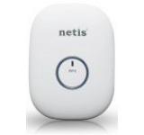 Range Extender Wireless Netis E1+, 300 Mbps, 2 in 1 (Range Extender, Router), 2 Antene interne (Alb)