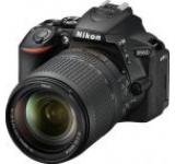 Aparat Foto D-SLR Nikon D5600, Obiectiv AF-S 18-140 mm VR, 24.2 MP, Filmare Full HD, WiFi, NFC (Negru)