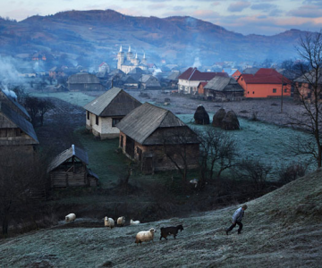 Un fotograf strain in Romania