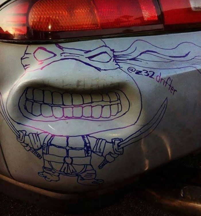 Arta pe patru roti: Cei mai ingeniosi posesori de masini - Poza 19