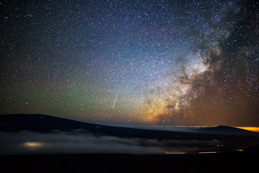 Lumina noptii: Un dans al Caii Lactee, in miezul verii - Poza 12