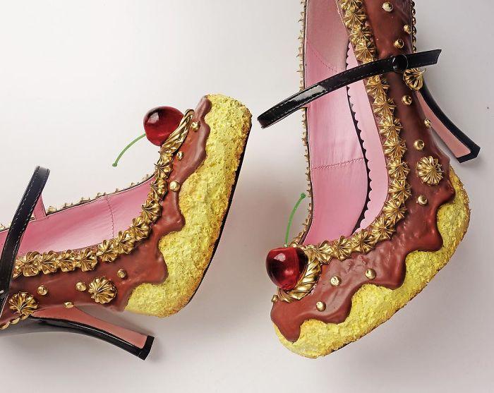 Pantofii cu aspect de prajituri, la mare moda in acest sezon - Poza 11