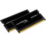 Memorii Laptop Kingston HyperX Impact Black SO-DIMM DDR3L, 2x8GB, 2133MHz, 1.35V, (CL11)