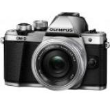 Aparat Foto Mirrorless Olympus E-M10 Mark II + Obiectiv EZ-M1442EZ Pancake, 16.1 MP, Filmare Full HD (Argintiu)