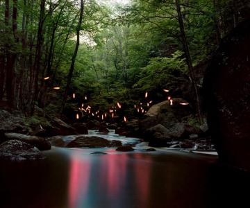 Fotograful care sculpteaza peisaje cu lumina