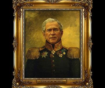 DeNiro, Jobs, Bush – numai buni de pusi in rama aurita