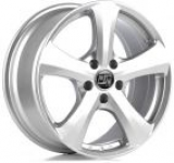 Janta Aliaj MSW 19 Full Silver, 6.5x16, 5x112, ET50