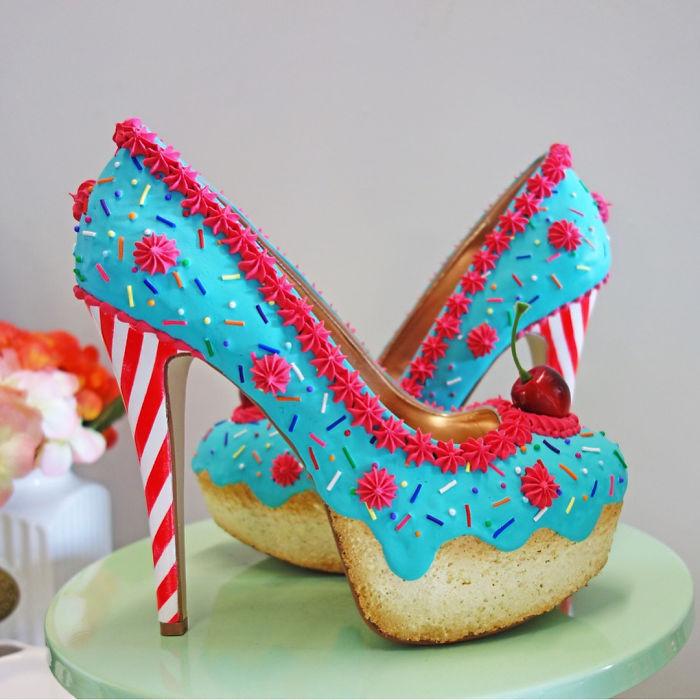 Pantofii cu aspect de prajituri, la mare moda in acest sezon - Poza 2