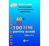 100 teme pentru acasa clasa a V-a