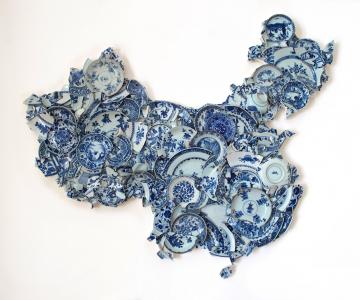 Arta cu cioburi de ceramica: Stari noi pentru obiecte vechi