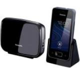 Telefon Fix/Mobil Panasonic PRX150PDB, Ecran TFT 3.5inch, WI-FI, 3G, Android (Negru)