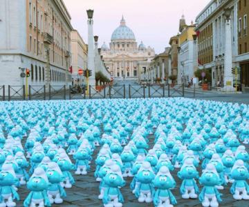 Ziua internationala a strumfilor la Roma