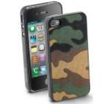 Protectie spate Cellular Line ARMYCIPHONE4S1 MILITARY 1 pentru iPhone 4/4S