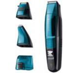 Aparat de tuns barba si mustata Remington MB6550, Acumulator Li, 2-16 mm, Lame din titan, Functie Aspirare, Negru/Albastru