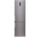 Combina frigorifica LG GBB530PVQWB, 343 l, No Frost, Clasa A+, Argintiu