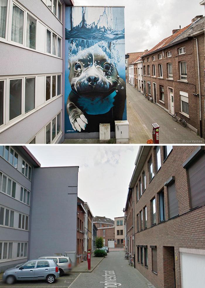 Arta stradala: Cele mai frumoase picturi pe cladiri - Poza 13