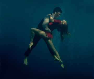 Tango sub ape, fotografiat de Katerina Bordunova
