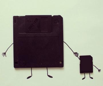 Ilustratii haioase cu obiecte banale