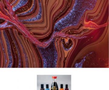 Culorile abstracte din colectia de oje, de Karissa Hosek