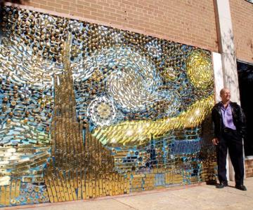 Un Van Gogh recreat din clante