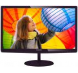 Monitor LED Philips 27inch 277E6LDAD/00, Full HD (1920 x 1080), MHL-HDMI, DVI, VGA, 1 ms, Boxe (Negru)