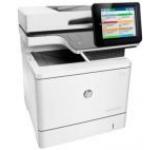 Multifunctional HP Color LaserJet Enterprise Flow MFP M577c, laser color, A4, 38 ppm, Fax, Duplex, ADF, Retea, ePrint