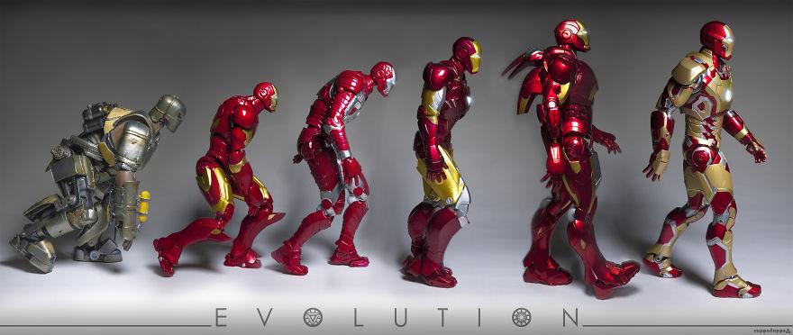 Istoria artei cu supereroi Marvel - Poza 8