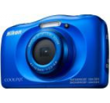 Aparat Foto Digital NIKON Coolpix W100, 13.2MP, Zoom Optic 3x, Wi-Fi (Albastru)