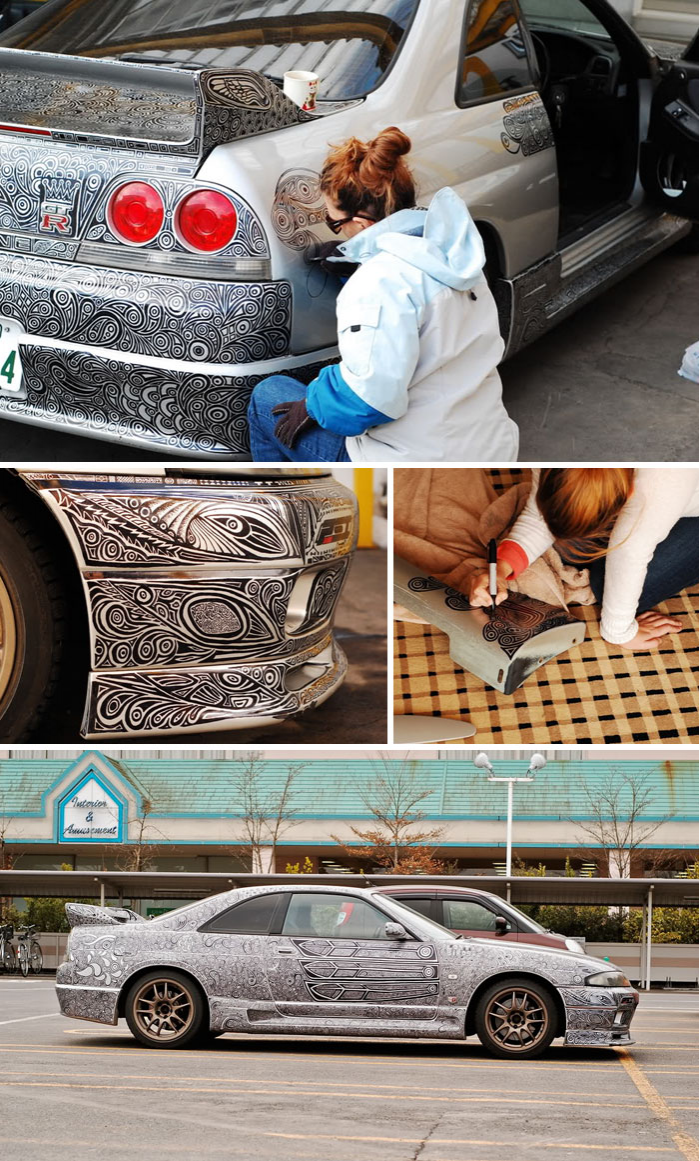 Arta pe patru roti: Cei mai ingeniosi posesori de masini - Poza 14