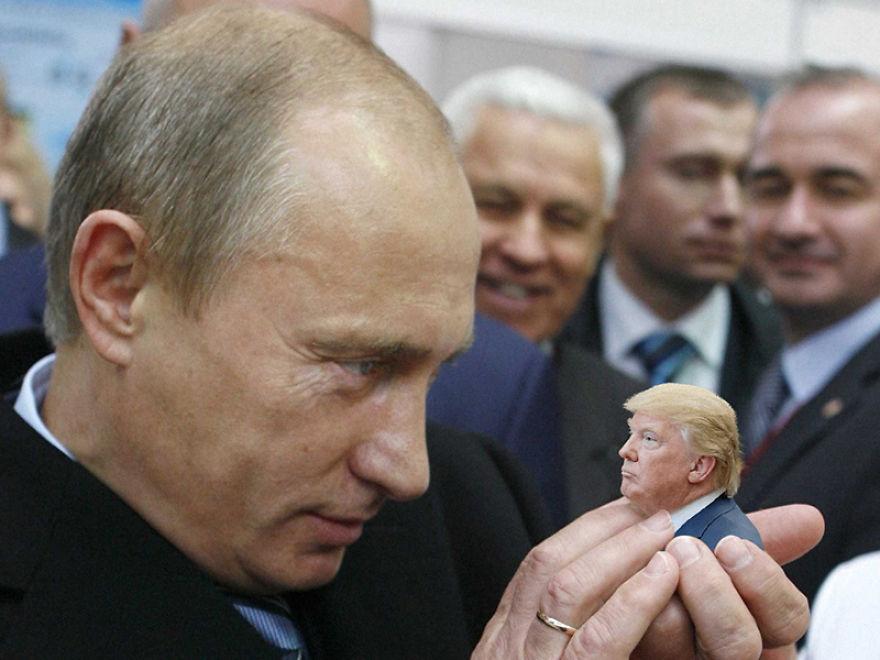 Donald Trump, ridiculizat de internauti, in poze haioase - Poza 5