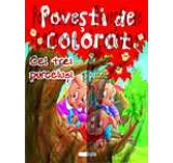 Povesti de colorat - Cei trei purcelusi