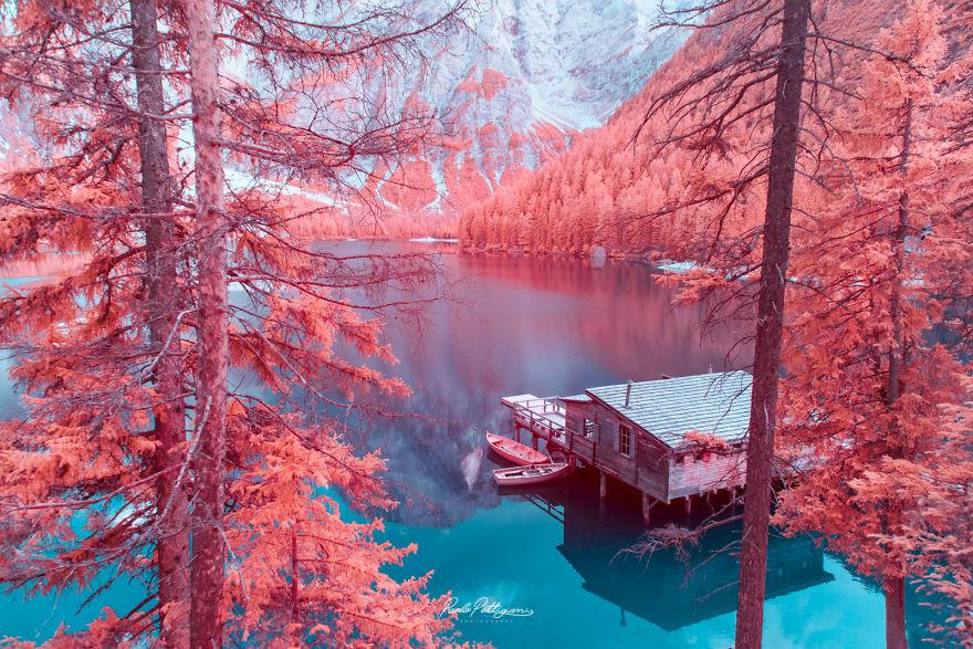 Lumea in infrarosu, intr-un set de fotografii superbe - Poza 11