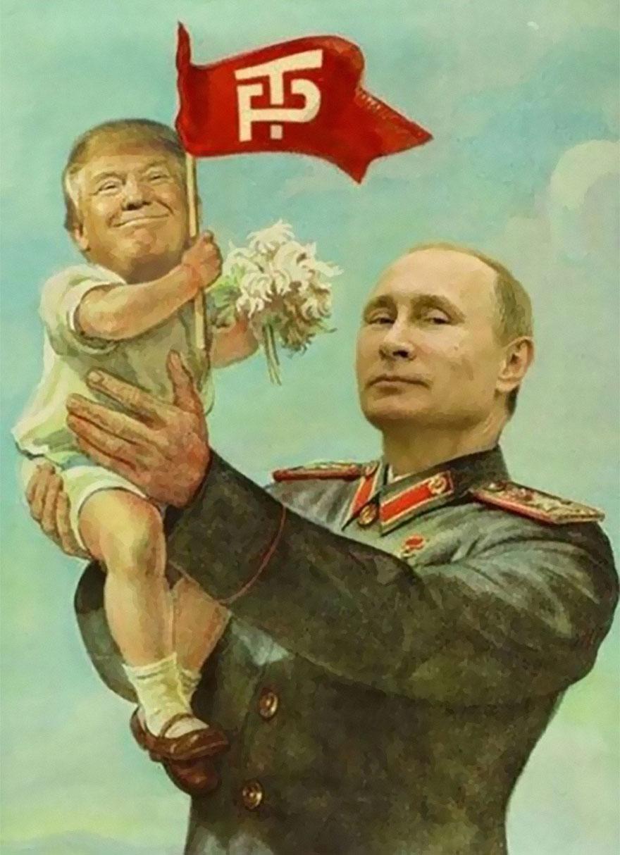Donald Trump, ridiculizat de internauti, in poze haioase - Poza 12