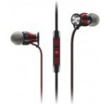 Casti Stereo Sennheiser Momentum In-Ear Galaxy (Negru/Rosu)