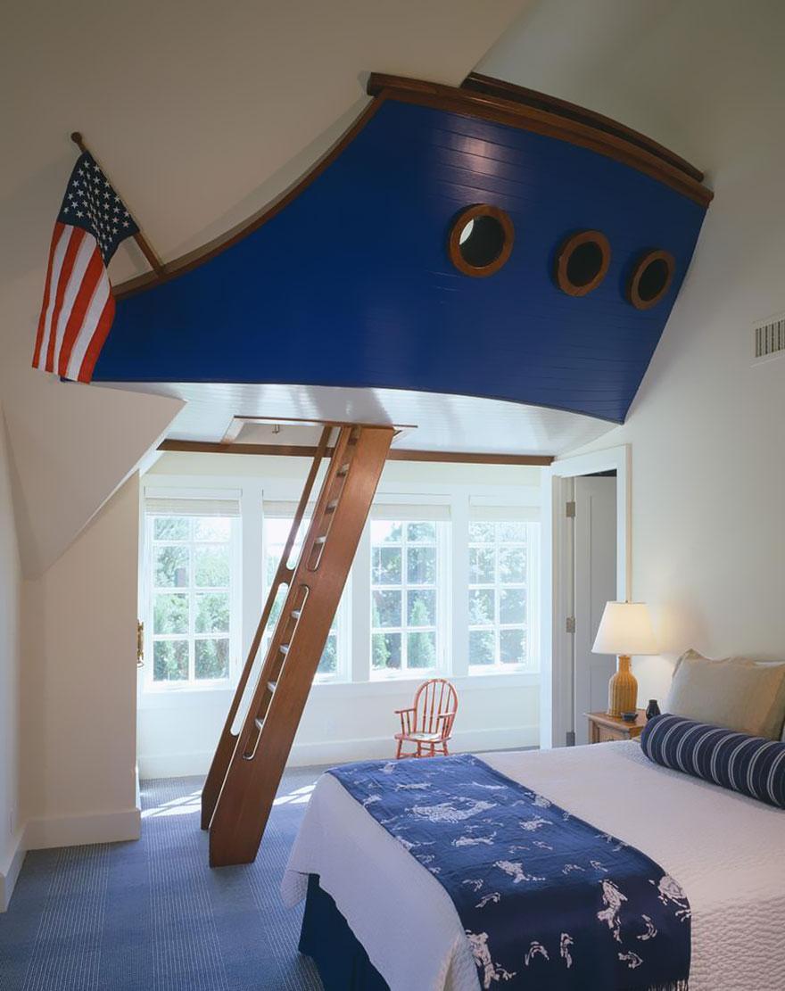 Cum sa aduci basmul in camera copilului. 15+ Idei geniale de amenajare - Poza 13
