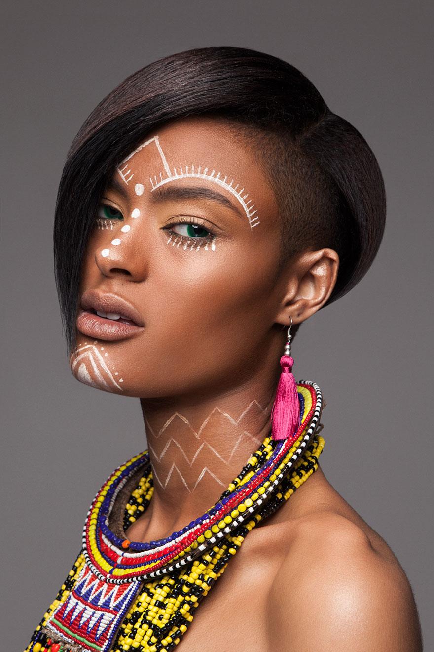 Frumusete feminina in cultura africana - Poza 11
