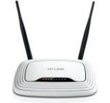 Router Wireless TP-LINK TL-WR841ND, 300 Mbps, 2 Antene detasabile 5dBi, Tehnologie MIMO 2T2R