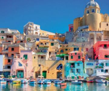 Un deliciu vizual: Cele mai colorate destinatii din lume