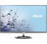 Monitor IPS LED ASUS 25inch MX25AQ, WQHD (2560 x 1440), HDMI, DisplayPort, 5 ms GTG, Boxe B&O ICEpower, Flicker free, Low Blue Light, TUV certified (Negru/Argintiu)